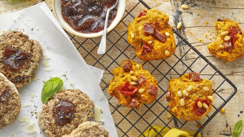 Cookies salés aux saveurs du sud