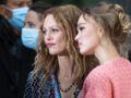 Vanessa Paradis et Lily-Rose Depp canons en duo mère-fille au défilé Chanel - PHOTOS