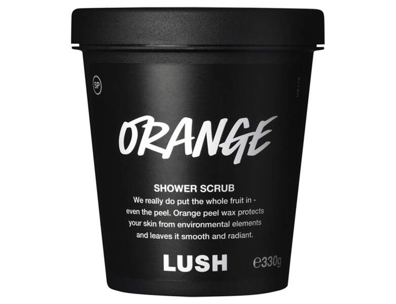 Gel douche exfoliant Orange de  Lush