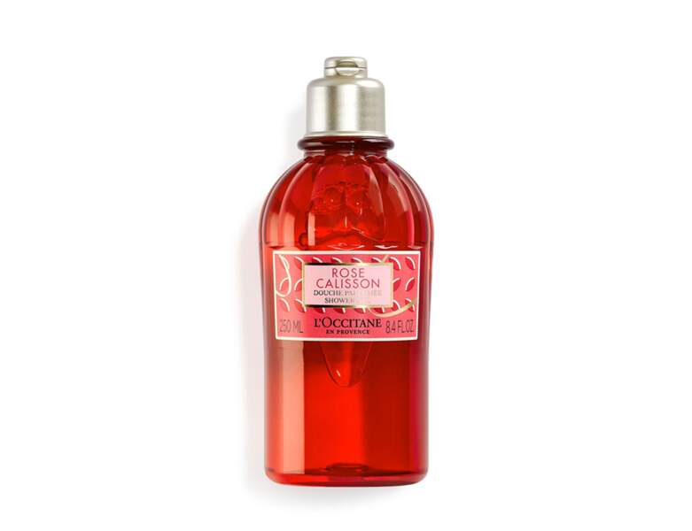 Douche Parfumée, Rose Calisson, de L'Occitane