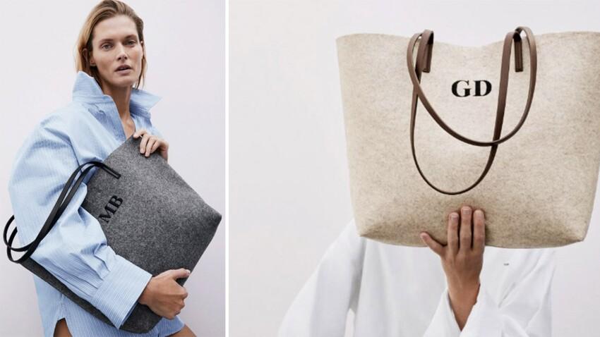 Zara : ce sac à moins de 20 euros que vous pouvez faire personnaliser... (Crush !)