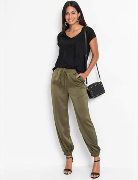 Pantalon à moins de 30 € : soyeux