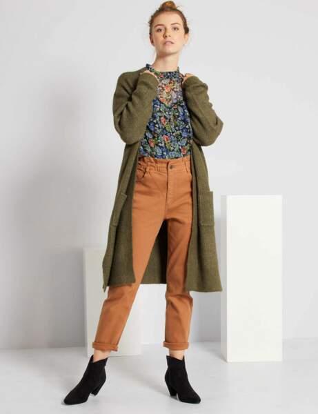 Pantalon à moins de 30 € : élastiqué