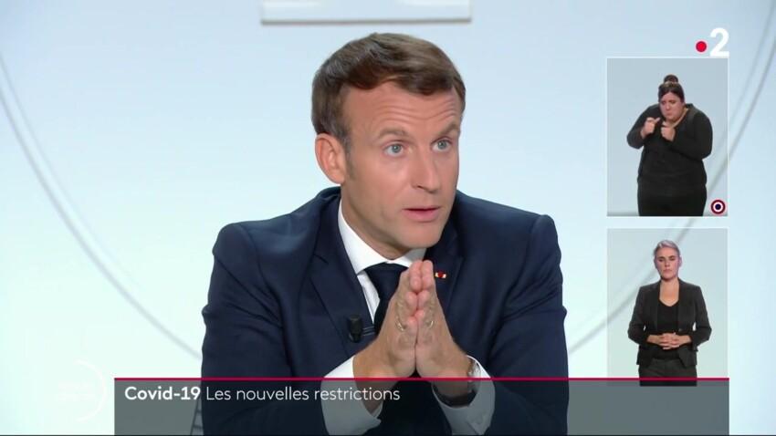 Couvre-feu, transports, télétravail, réunions familiales : ce qu'il faut retenir de l'allocution d'Emmanuel Macron