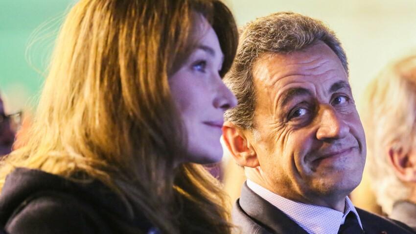 Nicolas Sarkozy débarque par surprise lors d'une interview de Carla Bruni… et lui vole la vedette