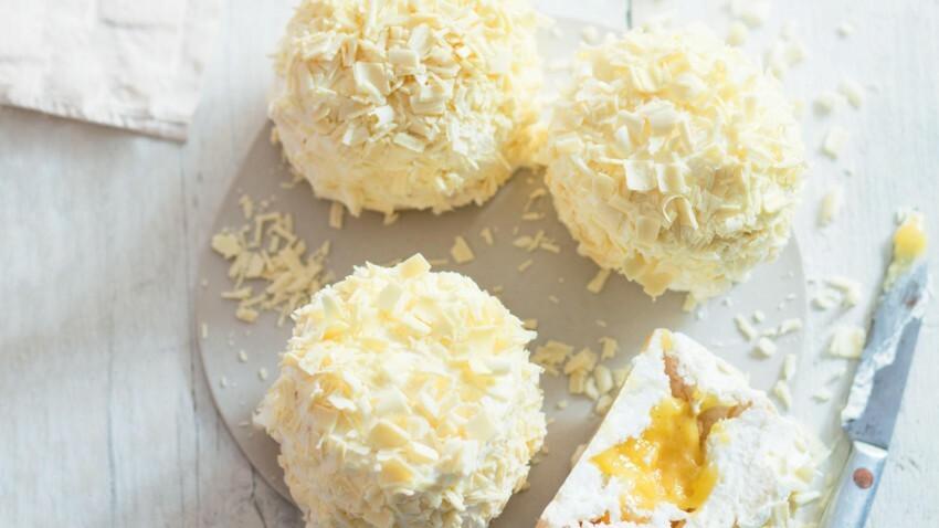 Le Meilleur Pâtissier : la recette facile du merveilleux au citron de Merouan Bounekraf