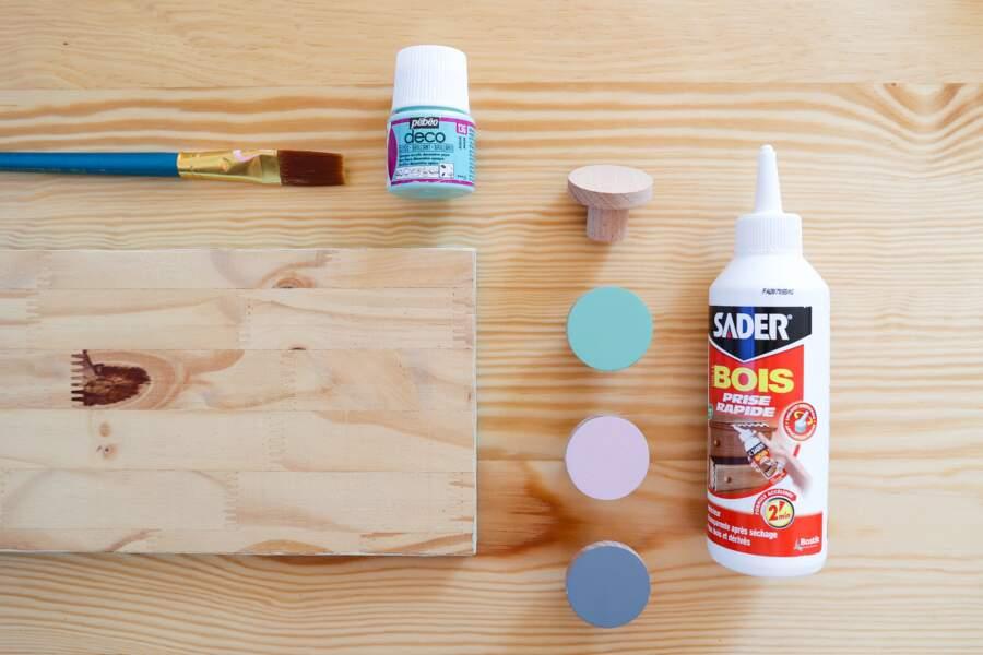 DIY : fabriquer un porte-masques facile. LISTE DU MATÉRIEL
