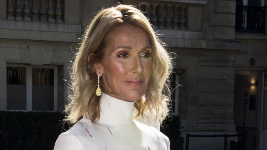 Céline Dion : nattes, robe moumoute et couleur originale pour la bonne cause. Sa pose parfaite aux côtés de ses jumeaux
