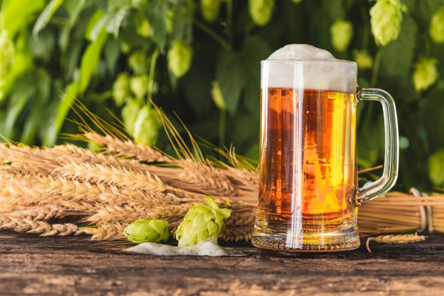 La bière non pasteurisée