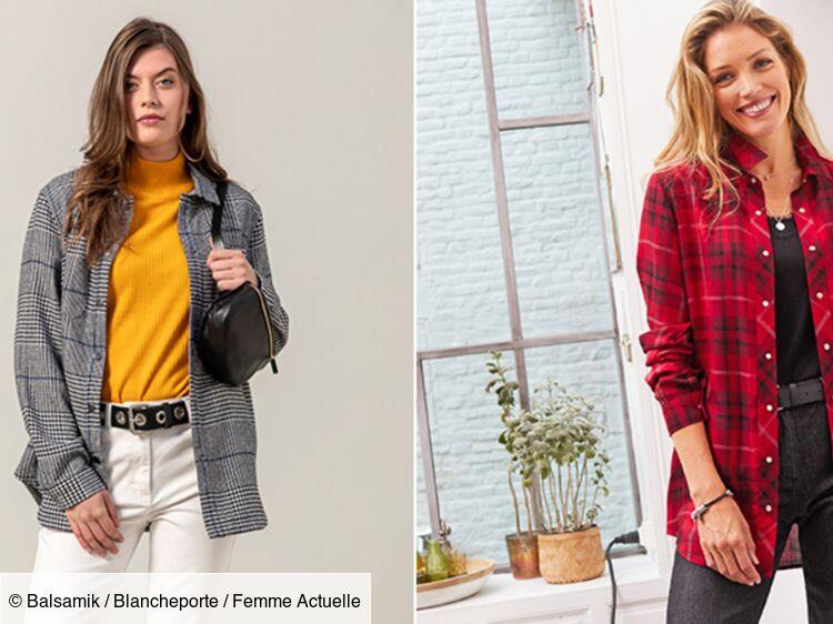 """Comment porter la veste façon """"chemise à carreaux"""" après 50 ans ?"""