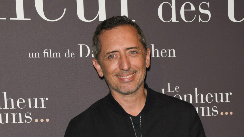 """Gad Elmaleh inquiet pour son album de reprises de Nougaro : """"Je ne sais pas s'il va plaire"""""""