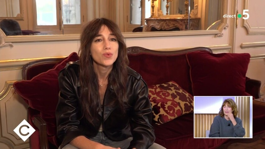 Jane Birkin au bord des larmes après la déclaration d'amour de sa fille Charlotte Gainsbourg