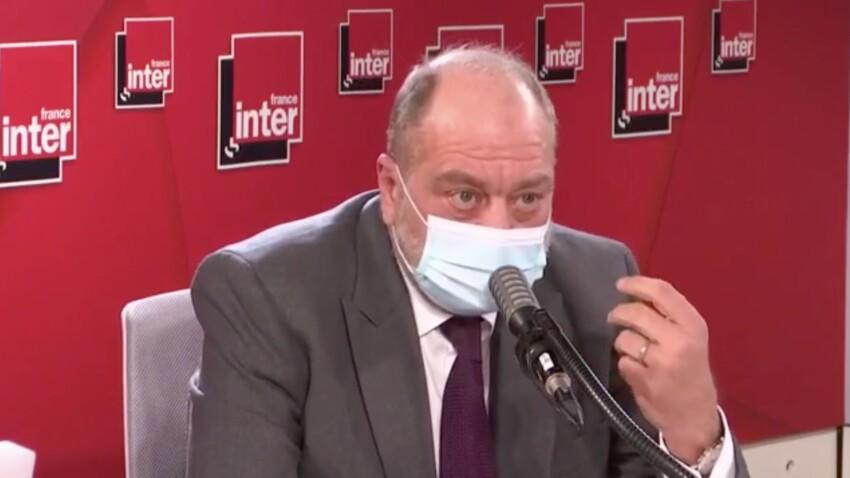 """""""Ça m'étonne de vous"""" : Eric Dupond-Moretti agacé par une question de Léa Salamé"""