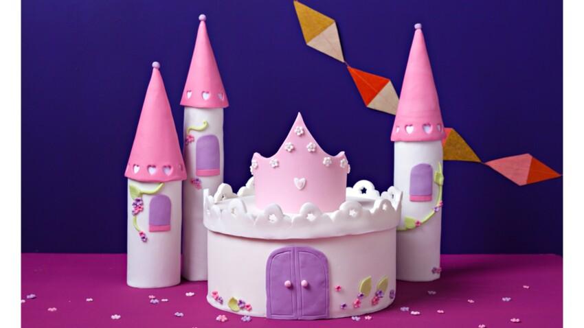 Gâteau château de rêve