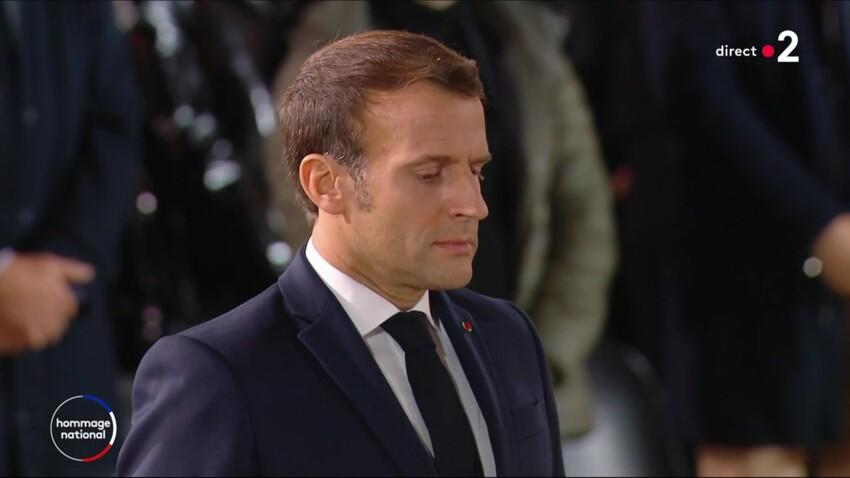 Hommage à Samuel Paty : Emmanuel Macron très touché et au bord des larmes durant sa prise de parole