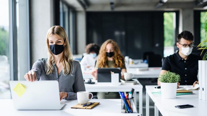 Covid-19 sur le lieu de travail : l'erreur décisive que commettent la  moitié des gens qui contaminent leurs collègues : Femme Actuelle Le MAG