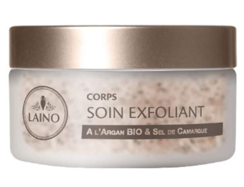 Soin exfoliant corps de Laino