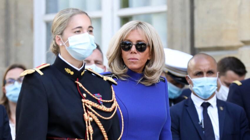 Brigitte Macron accusée de ne pas respecter le port du masque : le vrai du faux de la photo polémique