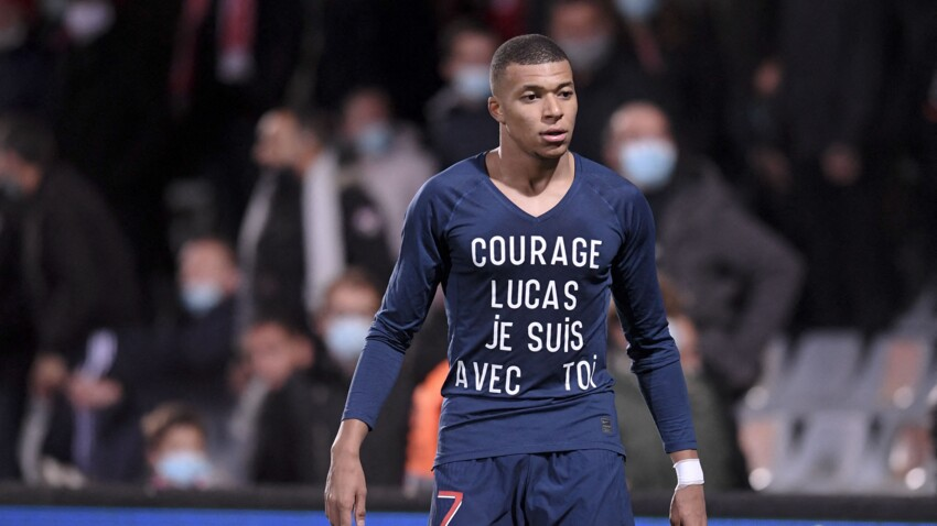 """Kylian Mbappé annonce la mort de son """"copain"""" Lucas, 8 ans et fan du PSG"""