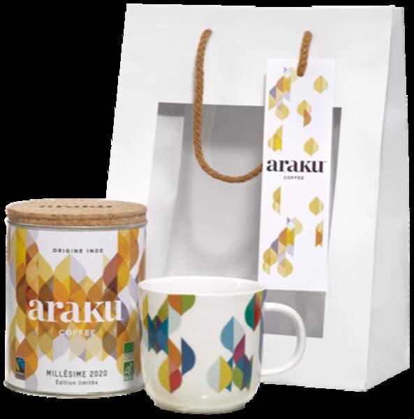 Cadeaux gourmands : Araku Coffee