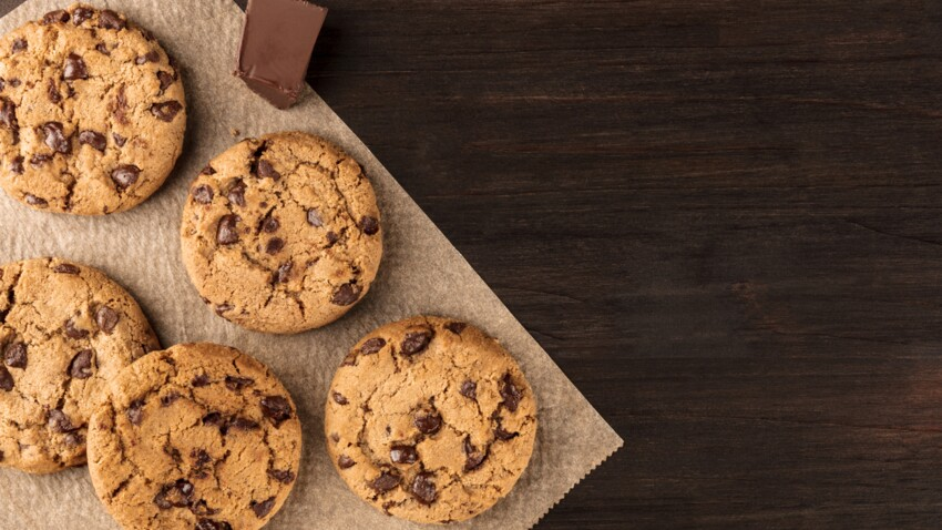 Cookies sans œufs : la recette en 1 min top chrono