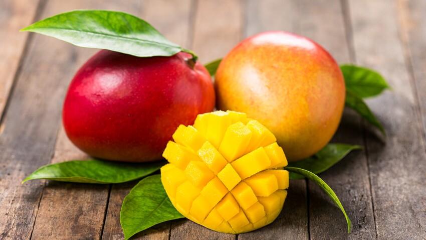 La mangue, excellente source de vitamine C