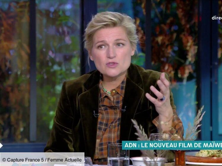 C à vous : la tendre attention d'Anne-Elisabeth Lemoine à son enfant Vasco