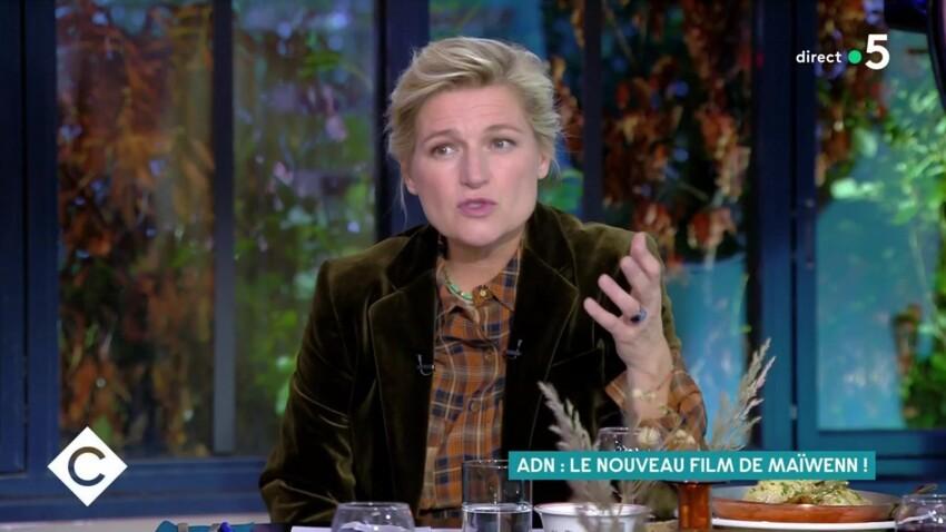 """""""C à vous"""" : la tendre attention d'Anne-Elisabeth Lemoine à son enfant Vasco"""