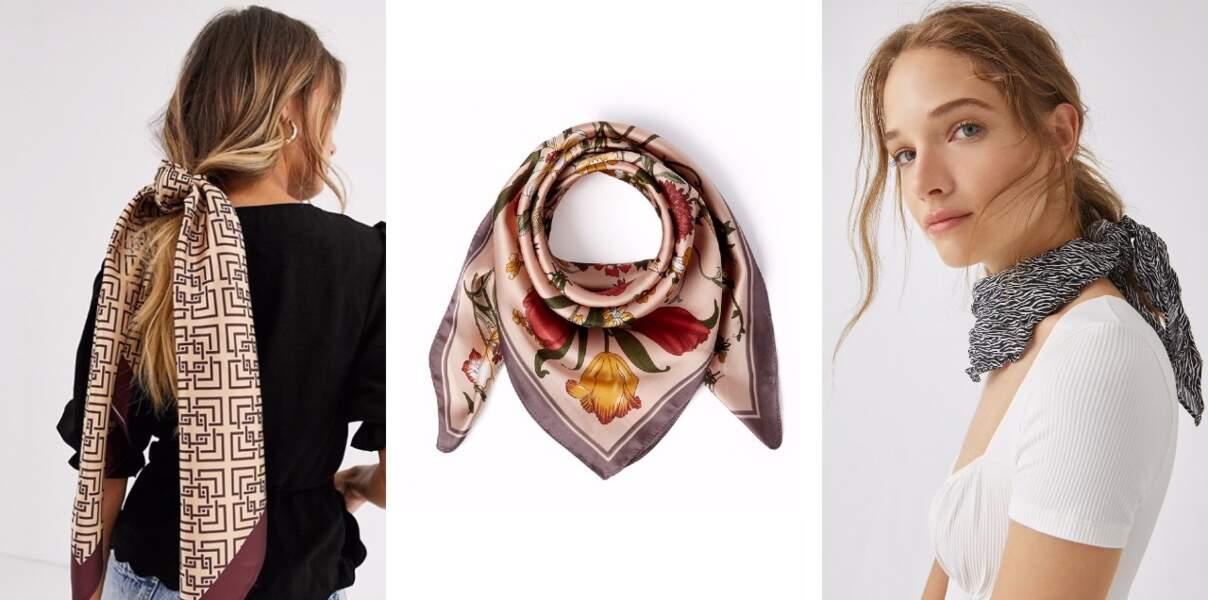 Les plus beaux foulards à adopter de toute urgence