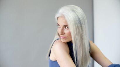 4 Astuces Pour Que Les Cheveux Blancs Ne Jaunissent Pas Femme Actuelle Le Mag