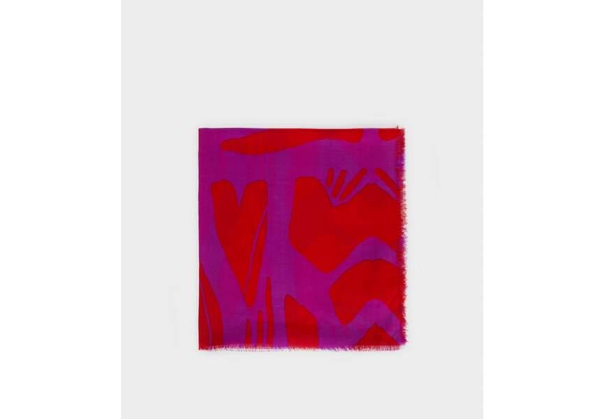 Foulard : bicolore
