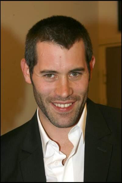 """Le comédien à 30 ans, à la première du film """"24 mesures"""", en 2006."""