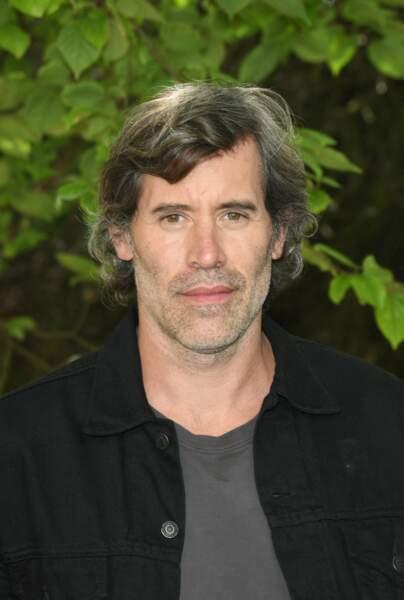 """Jalil Lespert, au Festival du film Francophone d'Angoulême 2020, pour présenter le film """"La terre des hommes"""", le 31 août 2020."""