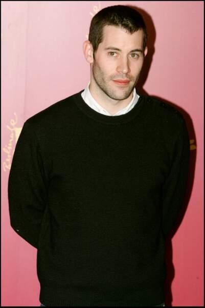 """Jalil Lespert, en février 2005, au photocall du film """"Le Promeneur du Champ-de-Mars"""" lors du Festival du film de Berlin."""