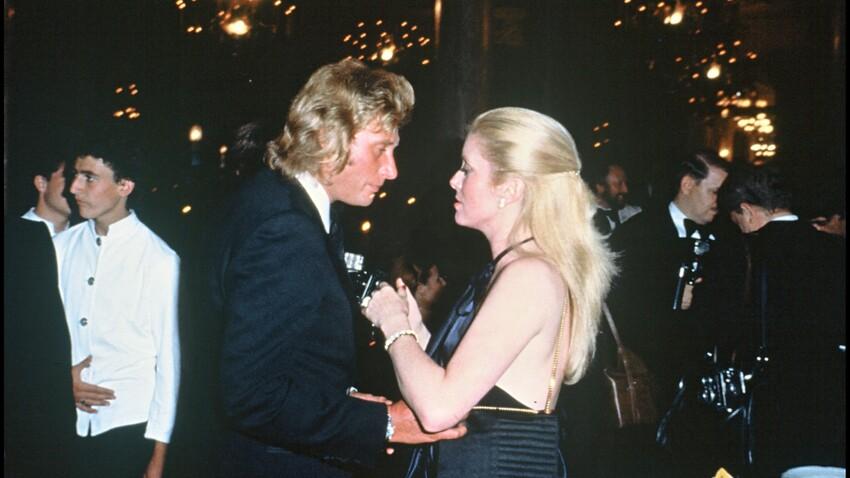 Johnny  Hallyday et Catherine Deneuve, les révélations sur leur histoire d'amour
