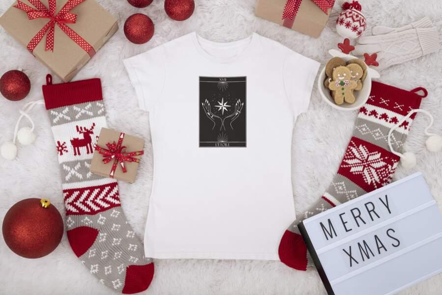 T-shirt étoile Tifany's Art