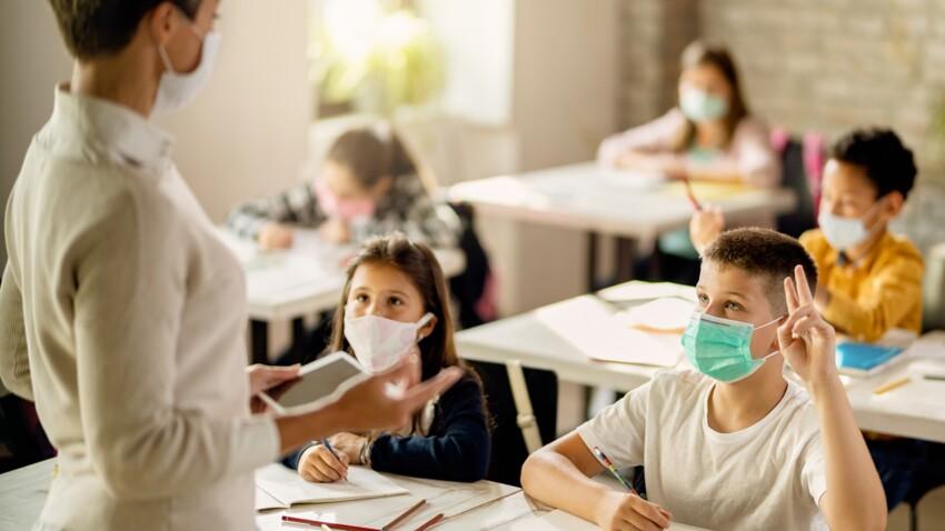 Port du masque dès 6 ans : est-ce dangereux pour la santé des enfants ?