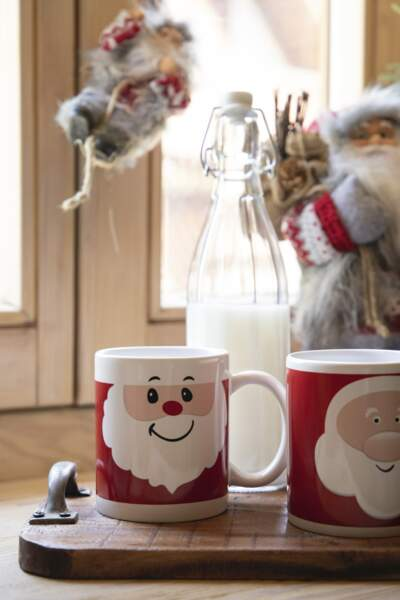 Tasse céramique Père Noël