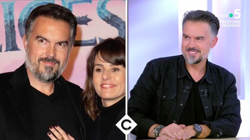 """Faustine Bollaert : son mari Maxime Chattam lui rend hommage dans """"C à vous"""""""
