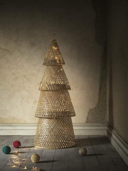 Sapin de Noël en bambou