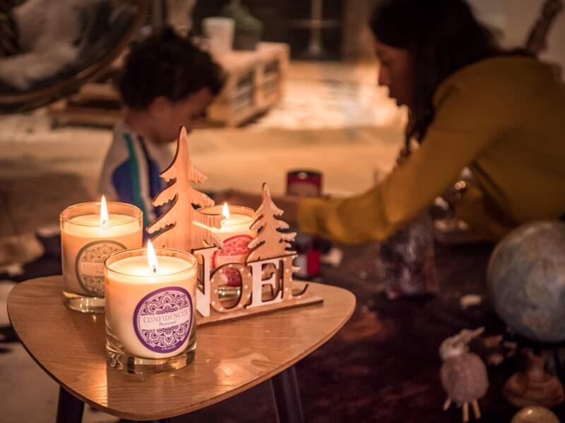 Confidences Provence : bougies artisanales