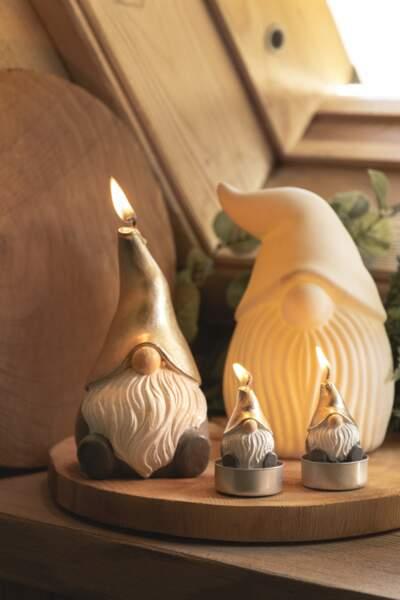 Figurine lutin céramique