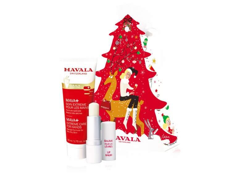 Coffret Winter Magic Tree chez Mavala