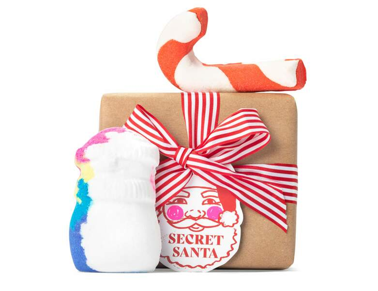 Coffret Secret Santa chez Lush