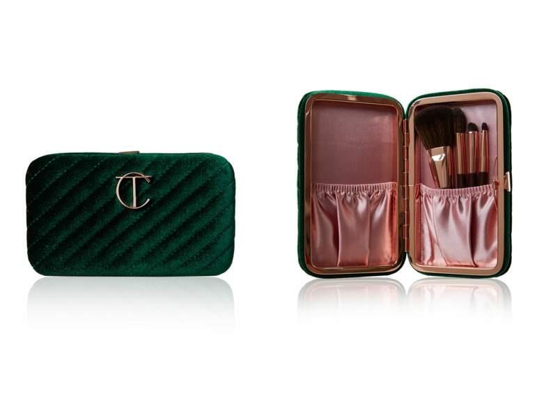 Kit de pinceaux de maquillage chez Charlotte Tilbruy