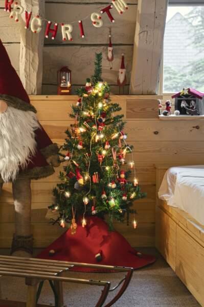 Guirlande feutrine Merry Christmas