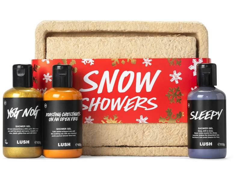 Coffret Snow Showers chez Lush