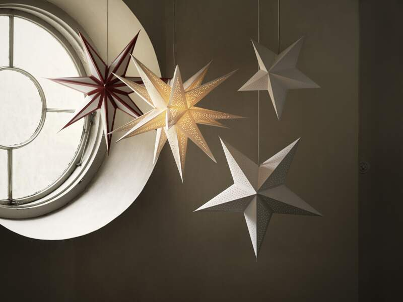 STRÅLA - Abat-jour étoile