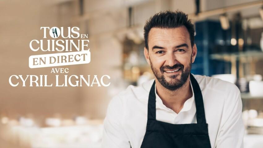 """""""Tous en cuisine"""" : Cyril Lignac donne des indices sur la date de retour de l'émission"""