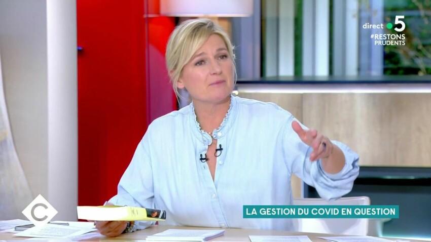 """Anne-Elisabeth Lemoine : son échange tendu avec Arnaud Montebourg dans """"C à vous"""""""